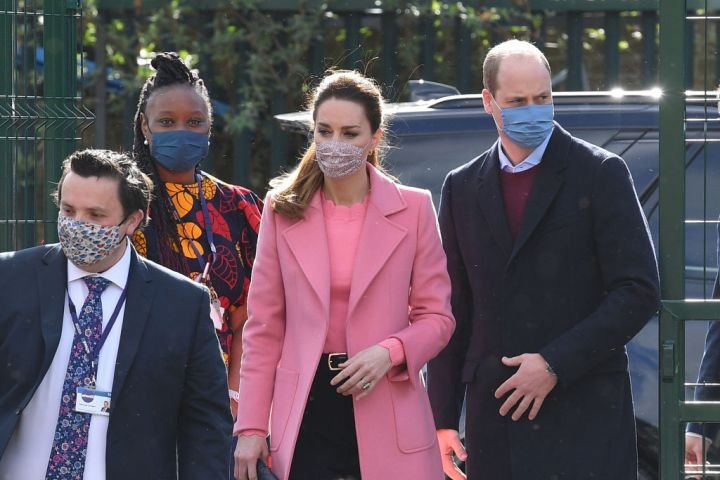 The Duke And Duchess Of Cambridge Visit School 21 In Stratford
